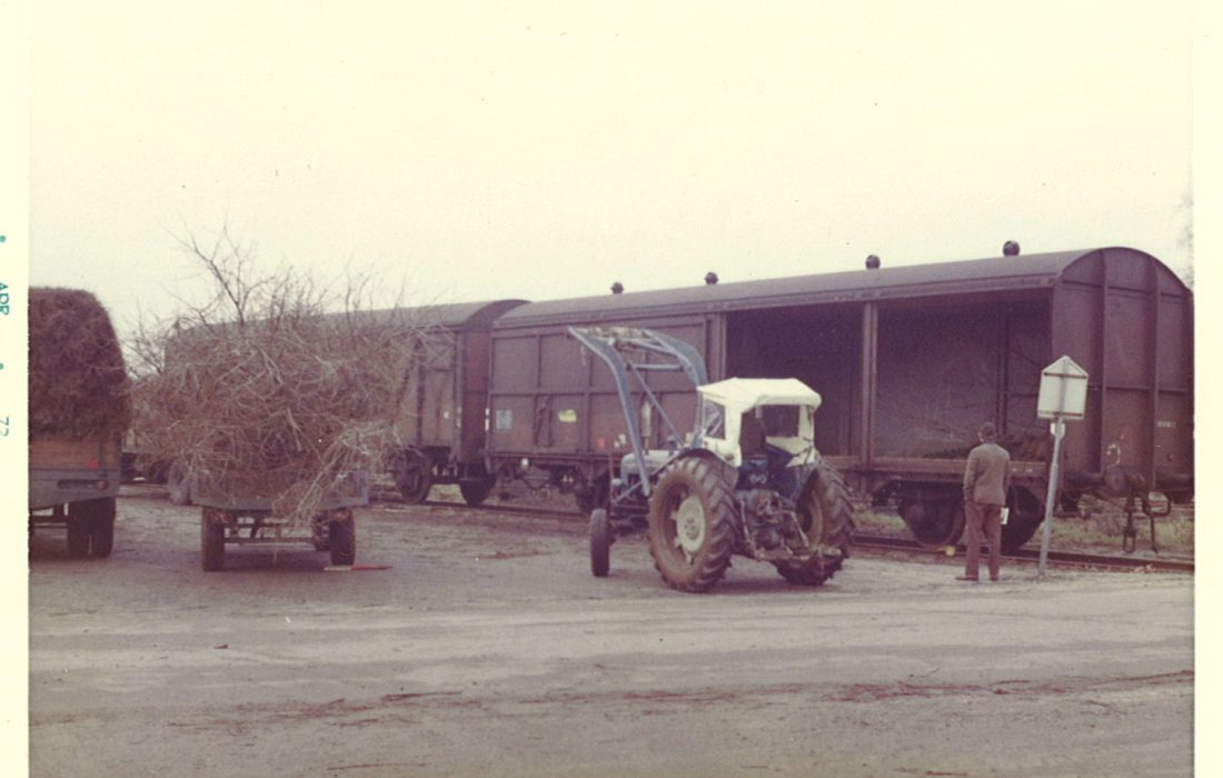 laden wagon